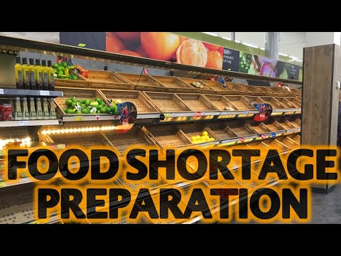 Prepare For Food Shortages (Short Term Famine Prep) 2020 ...