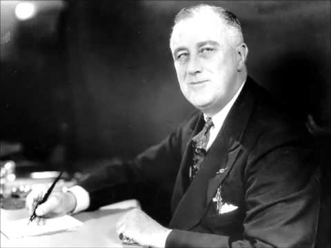Franklin Roosevelt - Fireside Chat #7, On the Works Relief Program and Social Security Act (1935 ...