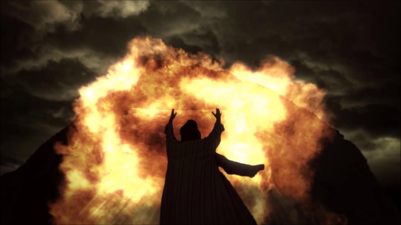 Prophet Elijah calls fire down from Heaven: Bible stories ...