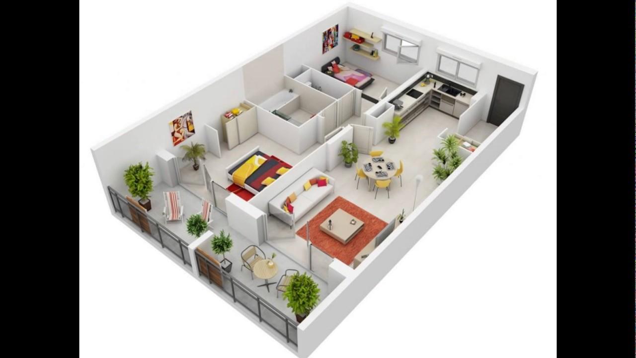 Gambar Denah Interior Dan Eksterior Rumah Minimalis | Rumahmen