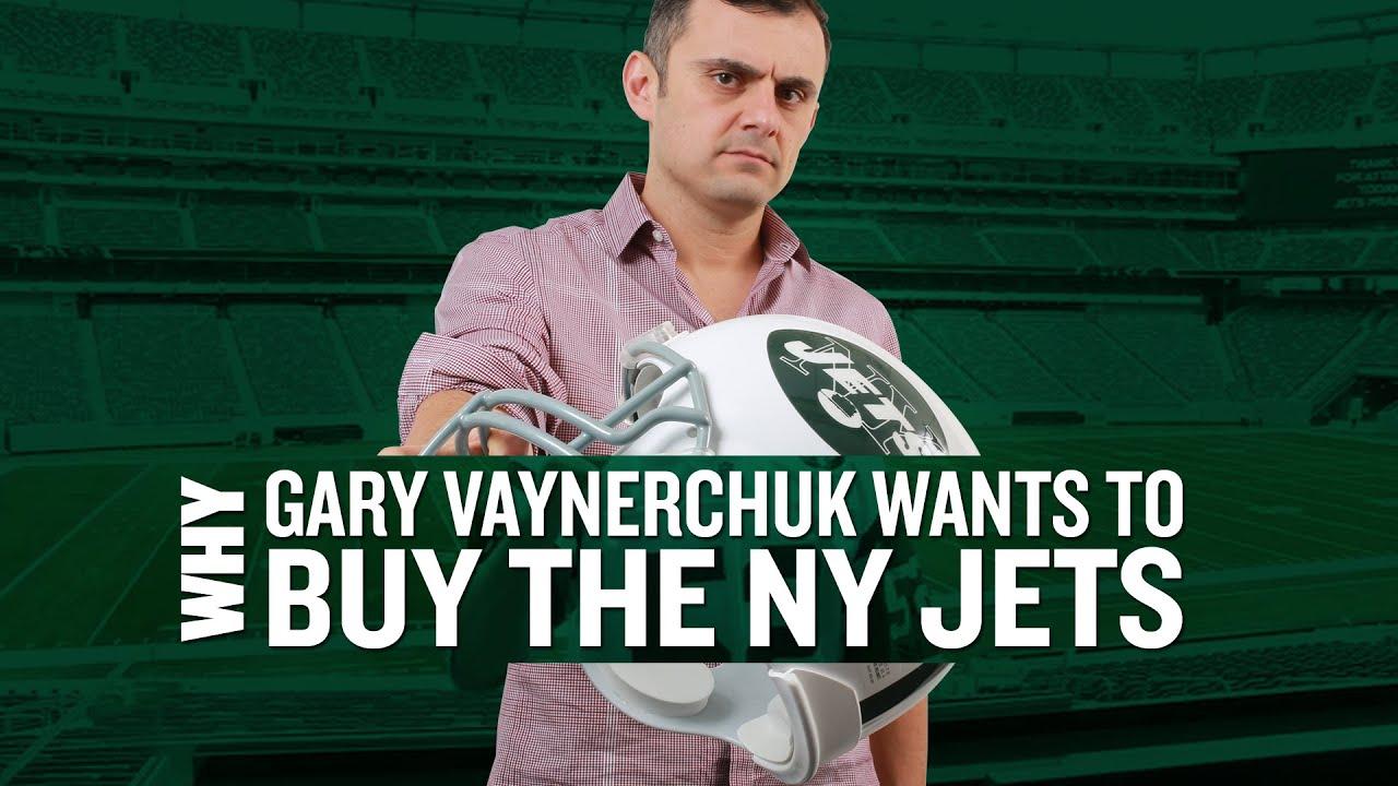 Gary Vaynerchuk and the New York Jets - YouTube