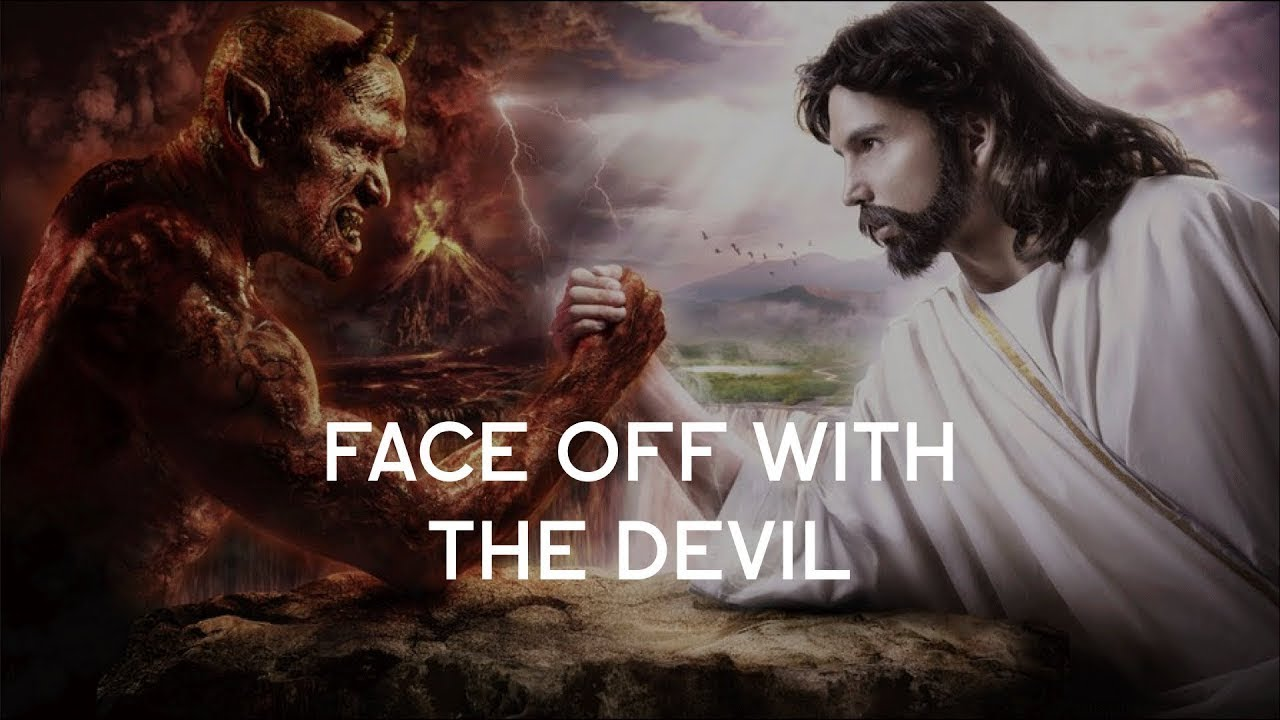 How the hell did Jesus get verified ? face to face with devil . - YouTube