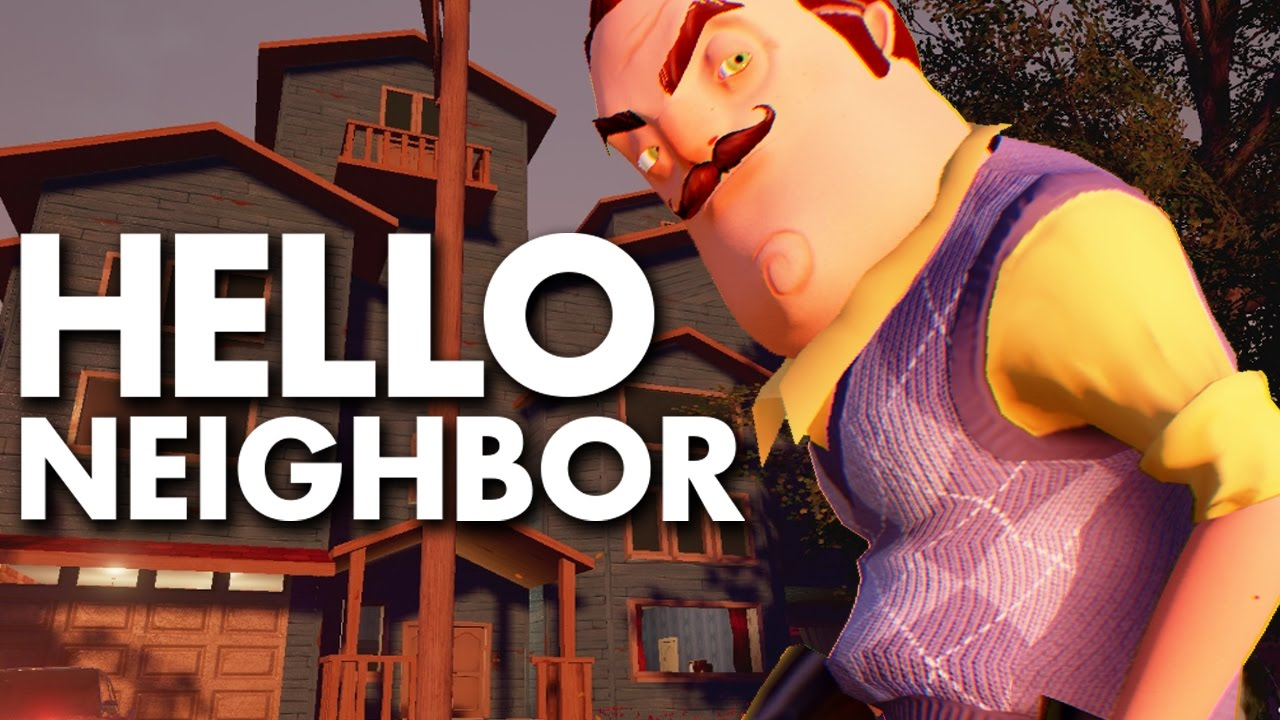 HELLO NEIGHBOR - Stealth Horror Demo - YouTube PS Now