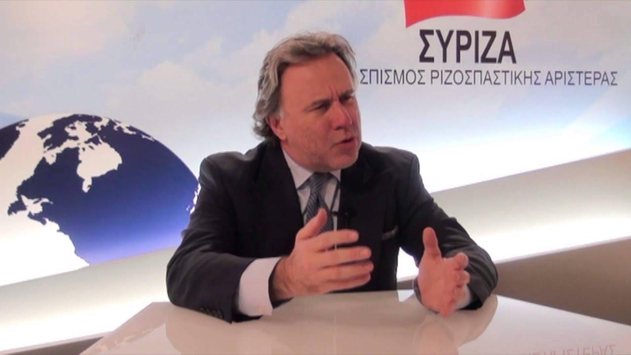 Γιώργος Κατρούγκαλος, υποψήφιος ευρωβουλευτής ΣΥΡΙΖΑ - YouTube