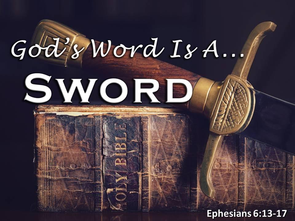 God's Word Is A Sword - YouTube
