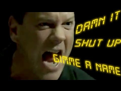 '24' Jack Bauer : NON STOP YELLING + Dammits - YouTube