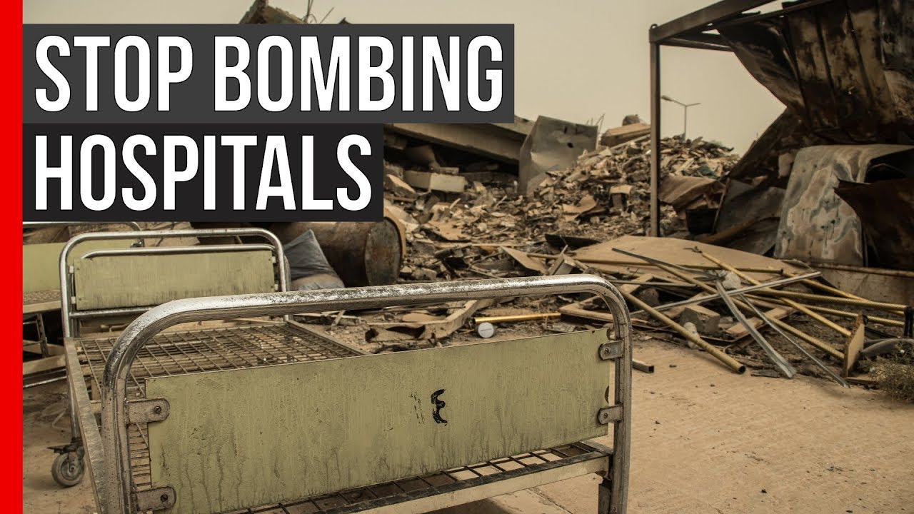 MSF Pulse: Stop Bombing Hospitals - YouTube