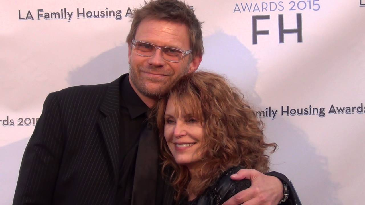 Mark Pellegrino with Kæreste Tracy Aziz