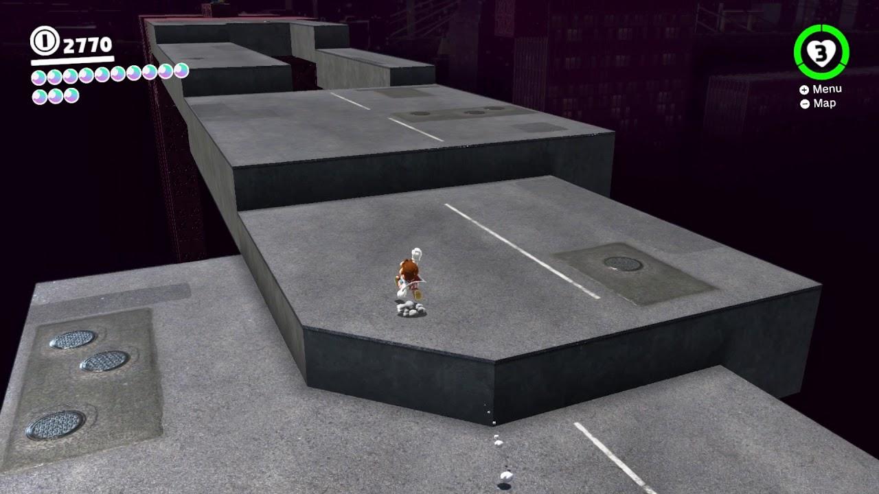 Super Mario Odyssey - Dark Side Moon #8: Vanishing Road ...
