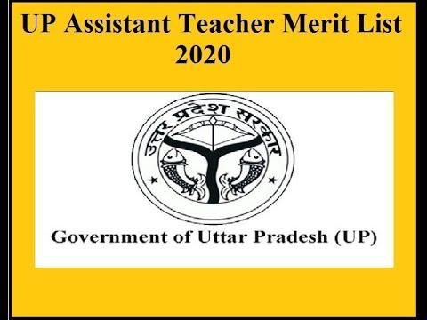 UP 69000 Assistant Teacher, Examination 2020 Merit List ...