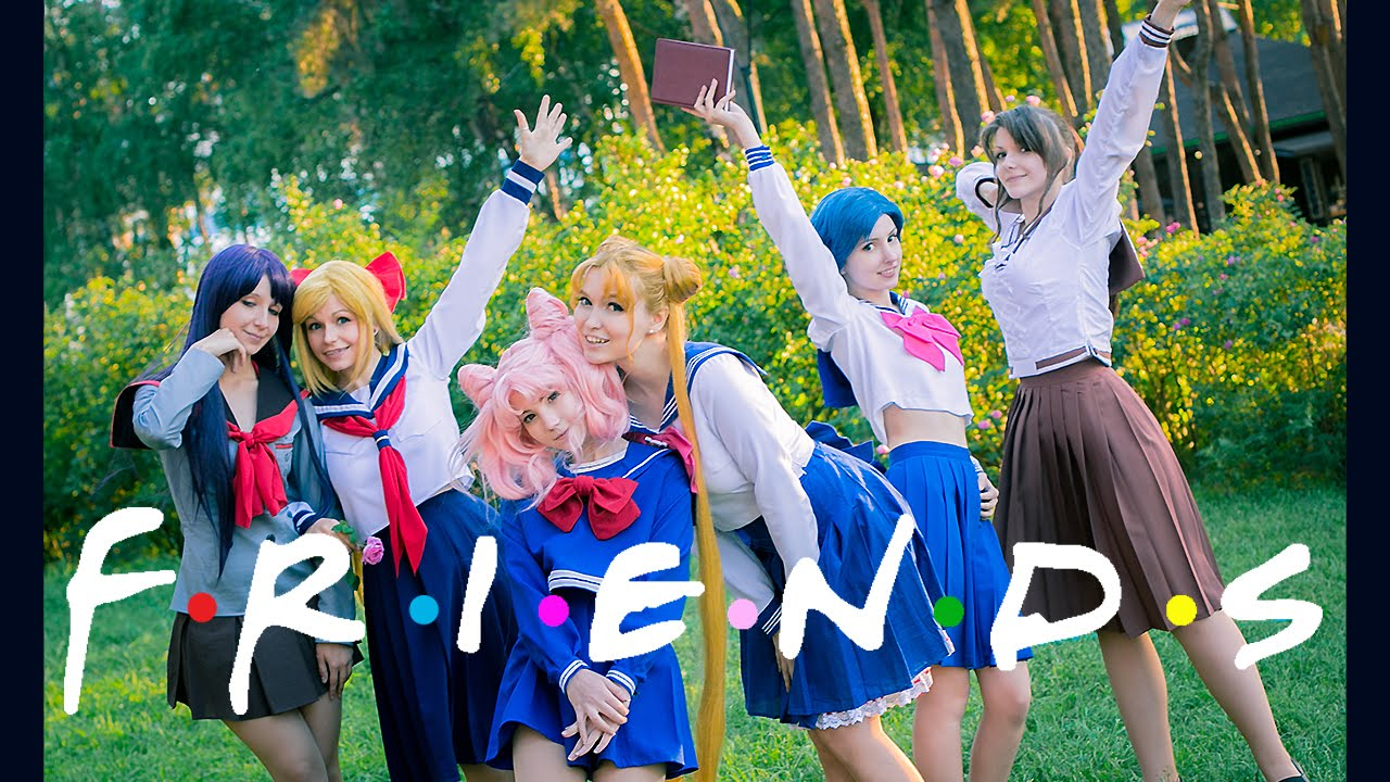 Sailor Moon - Friends cosplay 美少女戦士セーラームーン 2015 - YouTube