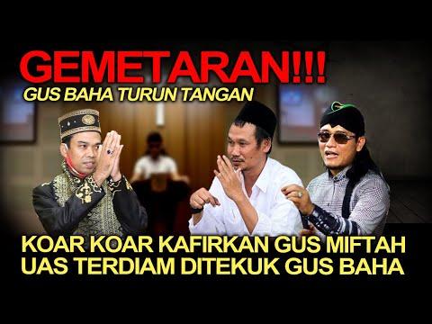 Politik Terkini❗️Gemeteran! Tak Terima Gus Miftah 'Dikafir2kan', Gus Baha Turun Tangan Ceramahi UAS!