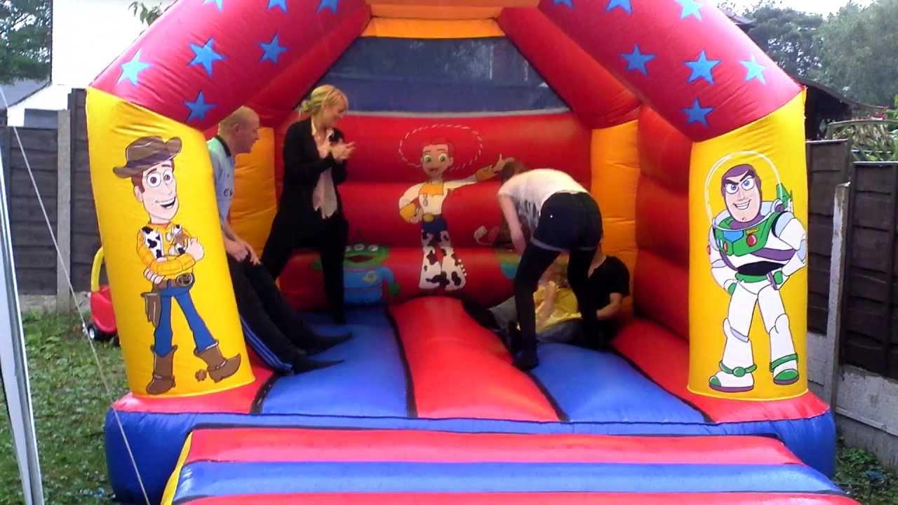 Bouncy Castle fun - YouTube