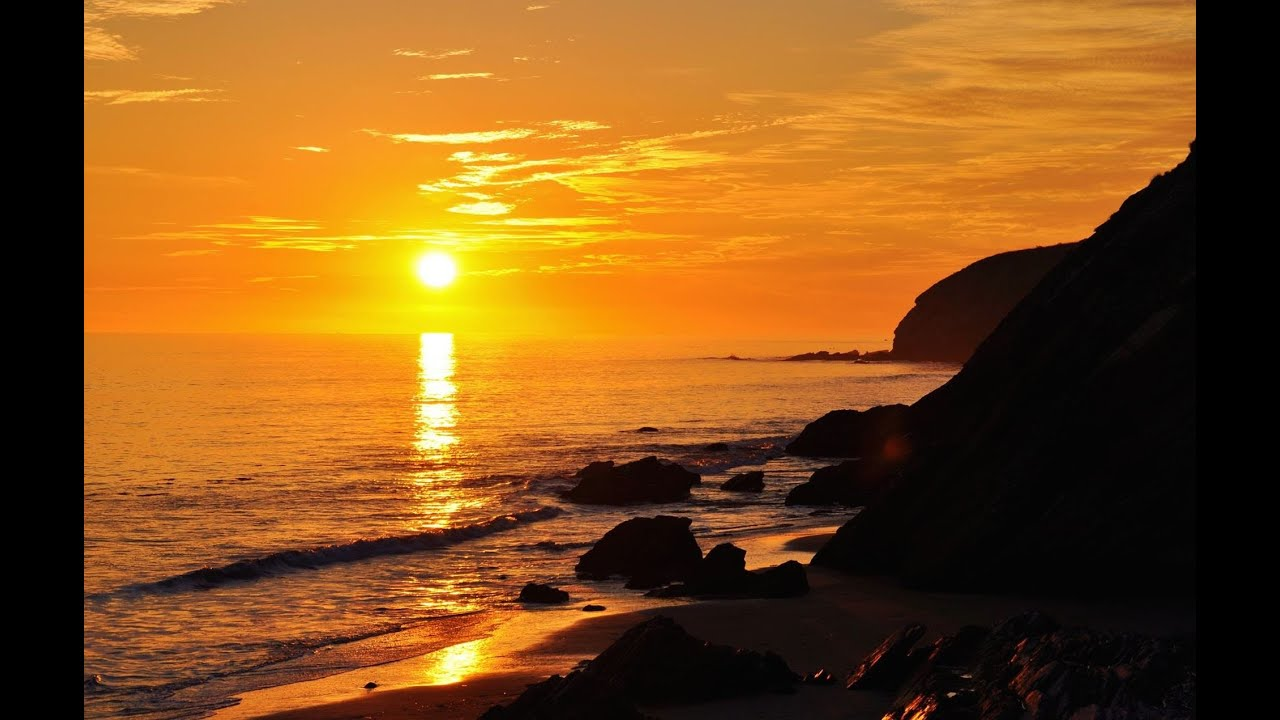 Southern California Pacific Ocean Sunsets - YouTube