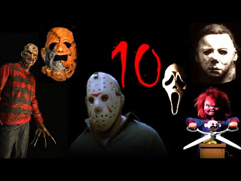 Top 10 Slashers - YouTube