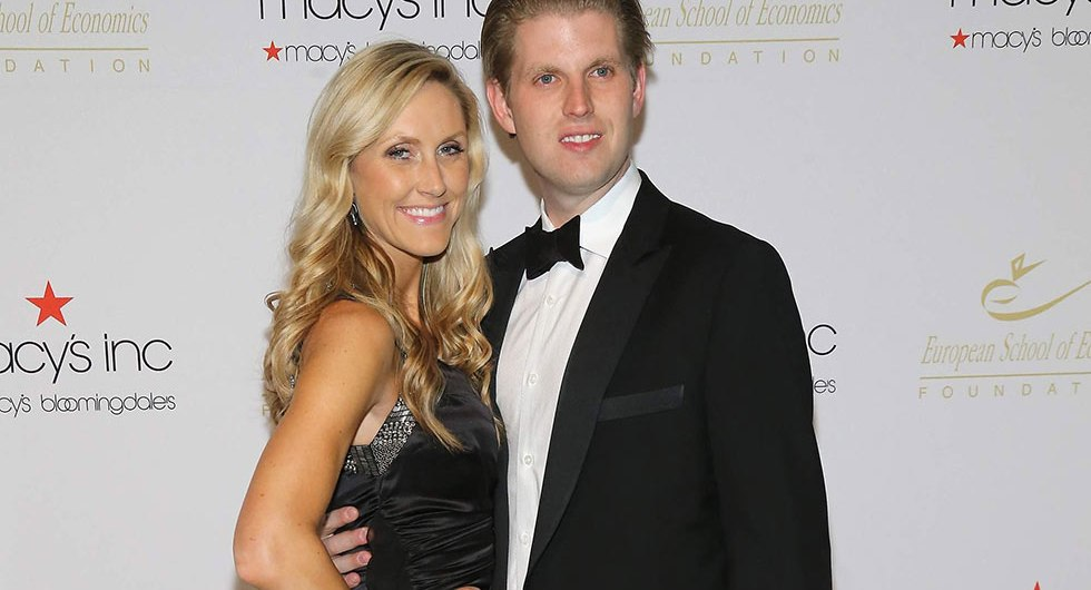 Eric Trump and wife Lara Yunaska's love and wedding story ...