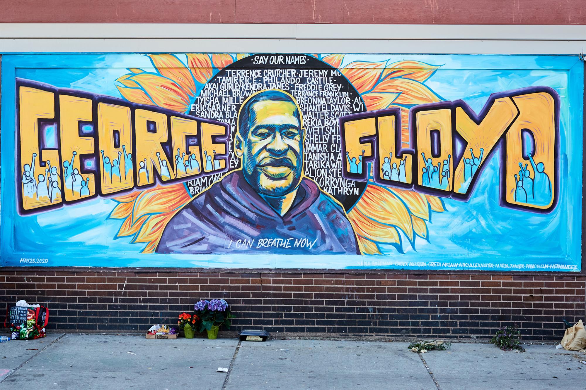 The People Behind The Mural of George Floyd - The Premier ...