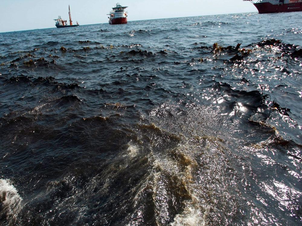 California Struck With Massive Oil Spill from Broken Pipeline