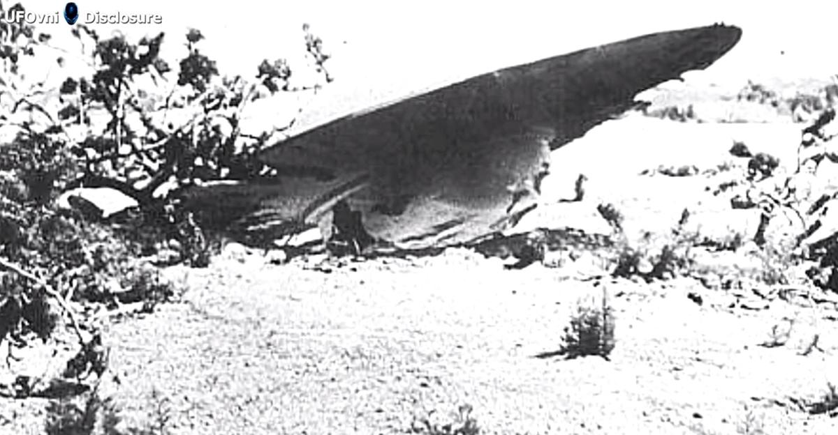 Roswell UFO wasn't aliens, it was a secret spaceship built ...
