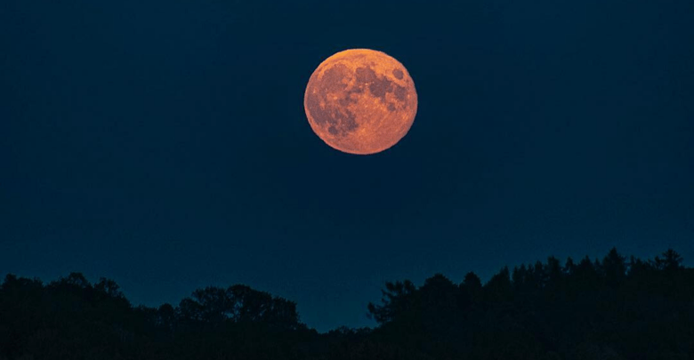 Watch the Strawberry Moon, penumbral lunar eclipse tonight…