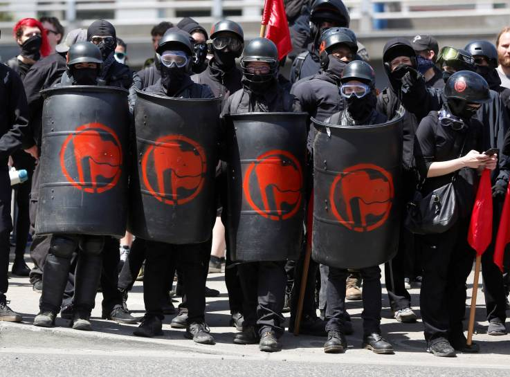 Antifa May* Pose As Cops Or Trump Supporters To Sew Hate ...