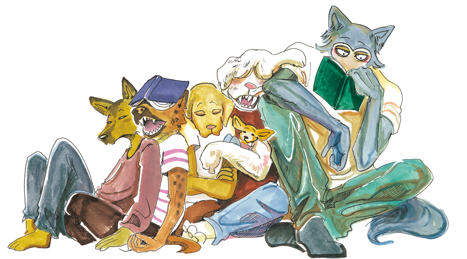 'BEASTARS' Wouldn't Exist Without Disney, Original Author ...