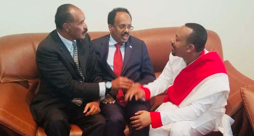 President Isaias on Working Visit to Amhara Region of Ethiopia