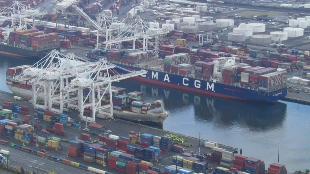 Stalled Cargo In Puget Sound Ports Straining Businesses And Driving Up Cost Of Goods ...