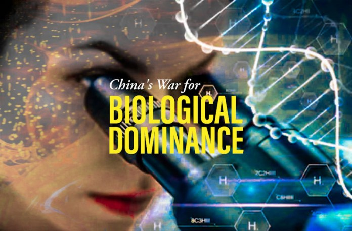 China's pursuit of 'biological dominance'…