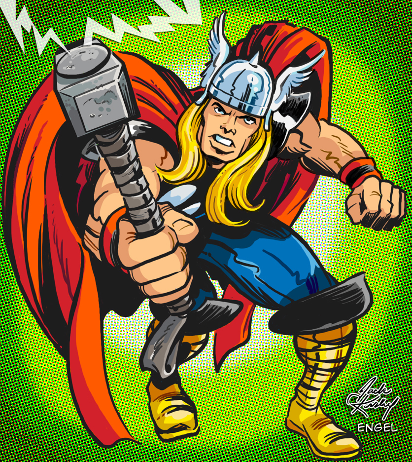 The Mighty Thor | KIRBY-VISION