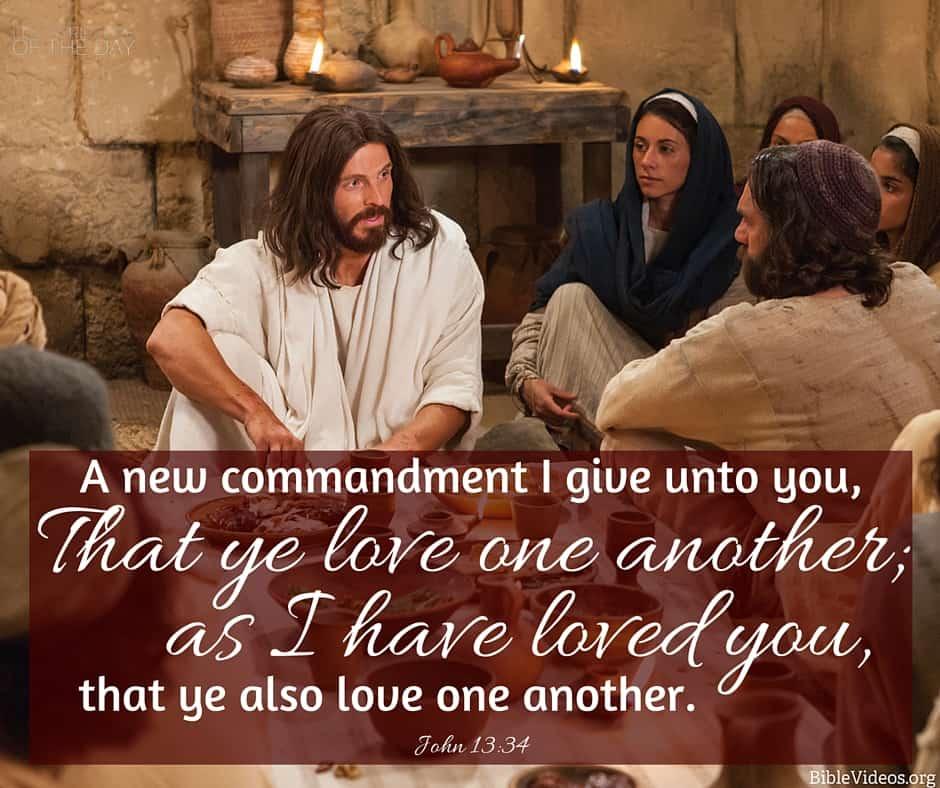 John 13:34 - Latter-day Saint Scripture of the Day
