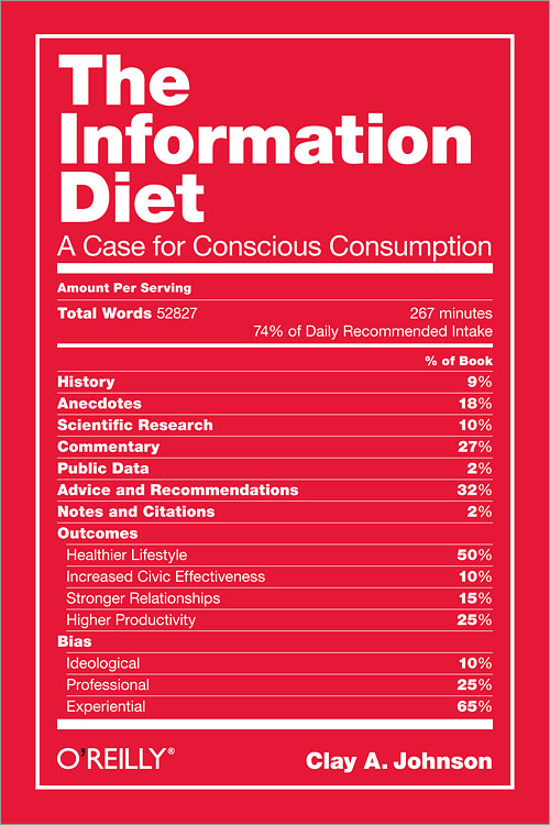 «La Dieta Informativa» de Clay Johnson: código ético del usuario