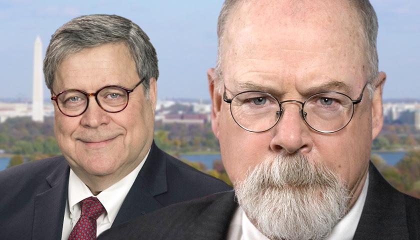 Attorney General Barr & US Attorney Durham DROP THE HAMMER ...