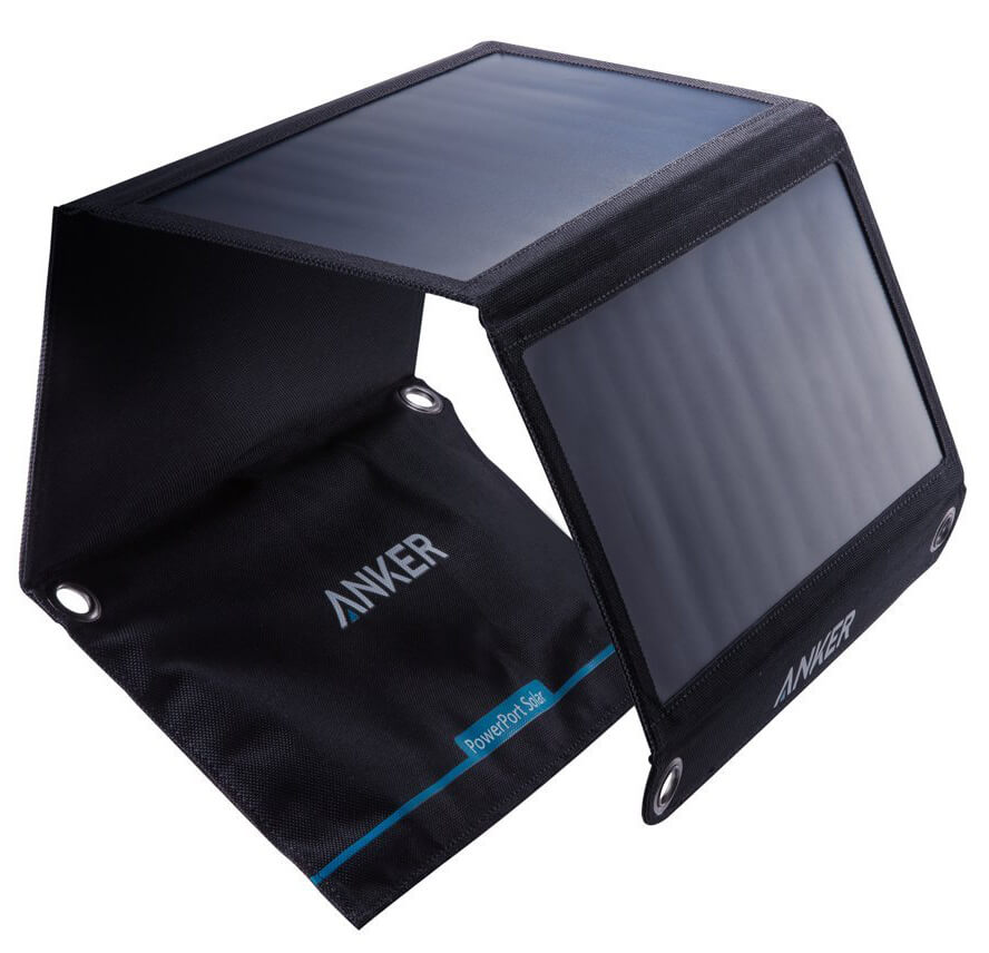 Review: Anker 21W USB Universal PowerPort Solar Charger