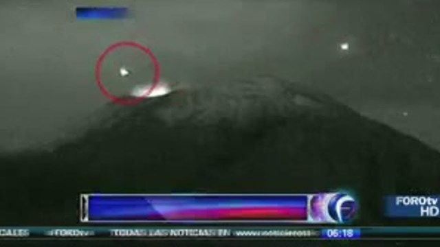 These Mexican Volcanoes Are The Bases For UFOs Since the 1950s