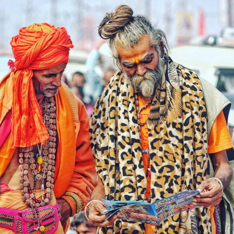 My holy dip at Ardh Kumbh in Prayagraj - PENDOWN- A Travel and Culture Blog