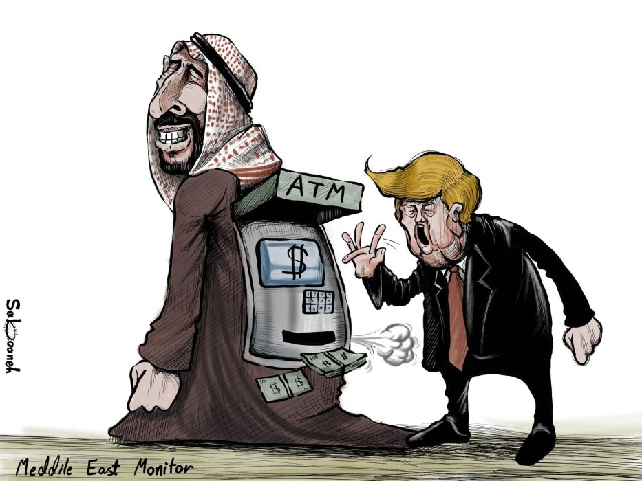 Trump: Saudi paid $1bn to increase number of US troops in ...
