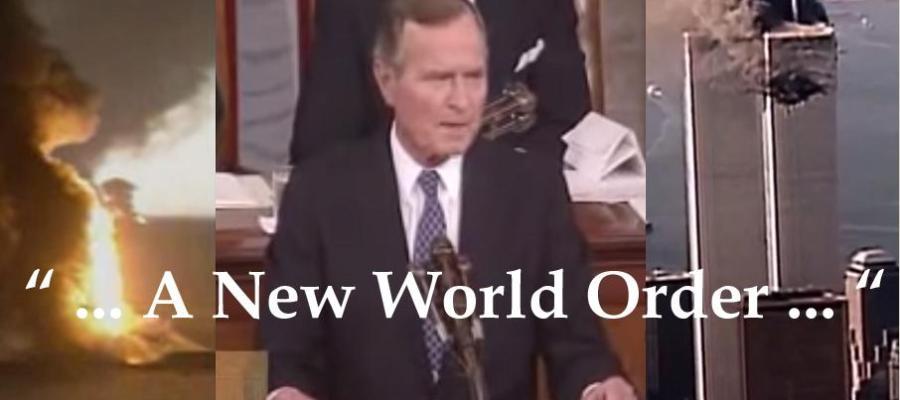 "September 11, 1990, George Bush Declares ""New World Order ..."