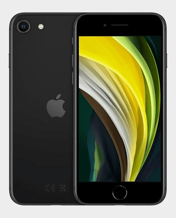 Buy Apple iPhone SE 2020 64GB Black in Qatar - AlaneesQatar.Qa