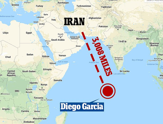 Indian Ocean Naval Base Diego Garcia: The Launchpad To Attack Iran…