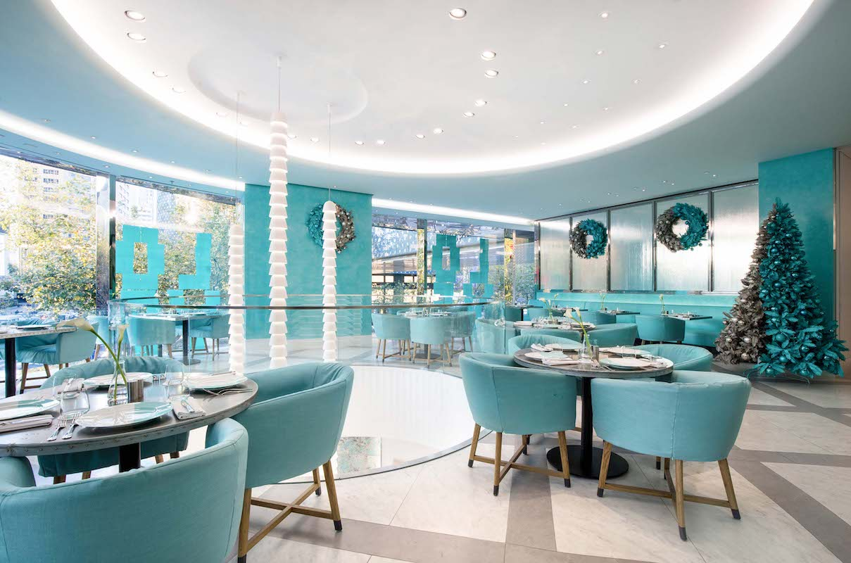 Chinese Mainland's First Tiffany Blue Box Cafe Opens in ...