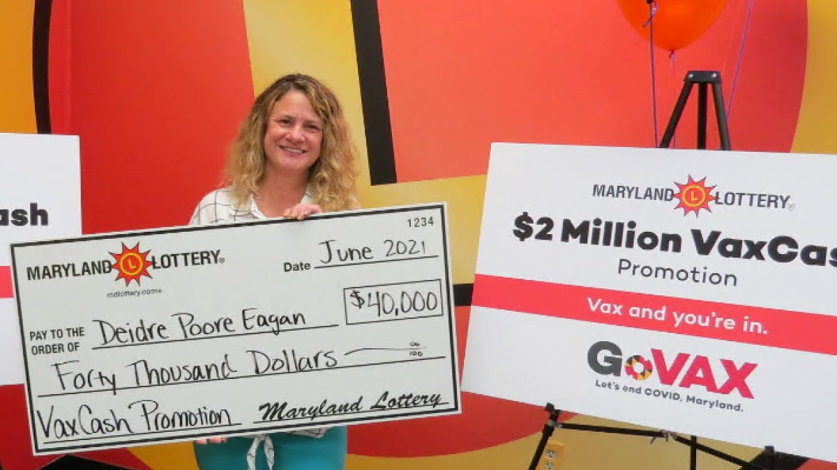 'I Have to Pull Over': Grocery Worker Wins MD Vaccine Lottery - NBC4 Washington