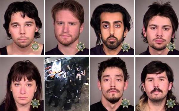 Seven Antifa Terrorists Arrested On Federal Charges After Weekend Of Carnage In Portland…