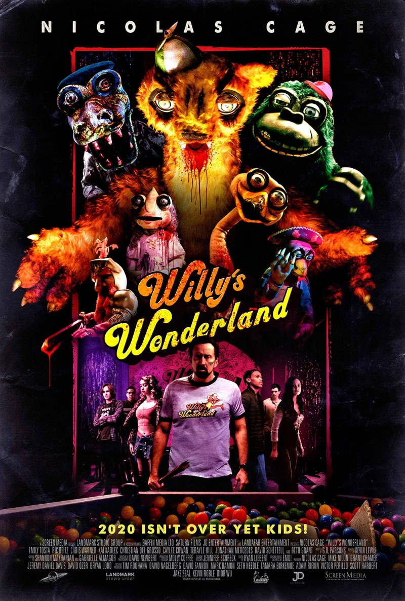 Willy's Wonderland CPE Reviews