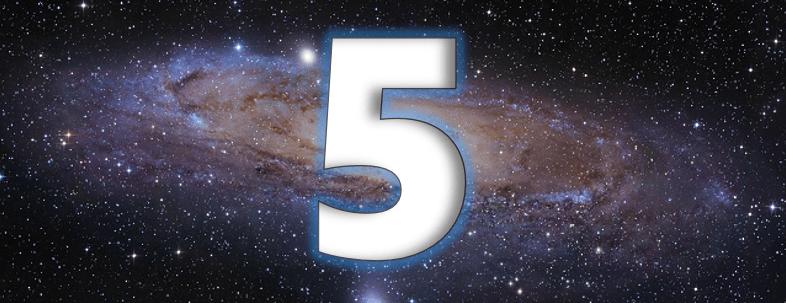 Le symbolisme du chiffre 5 (numérologie, Bible, ésotérisme...)