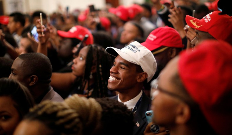 Polls Show 34 Percent of Black Likely Voters Approve of Donald Trump…