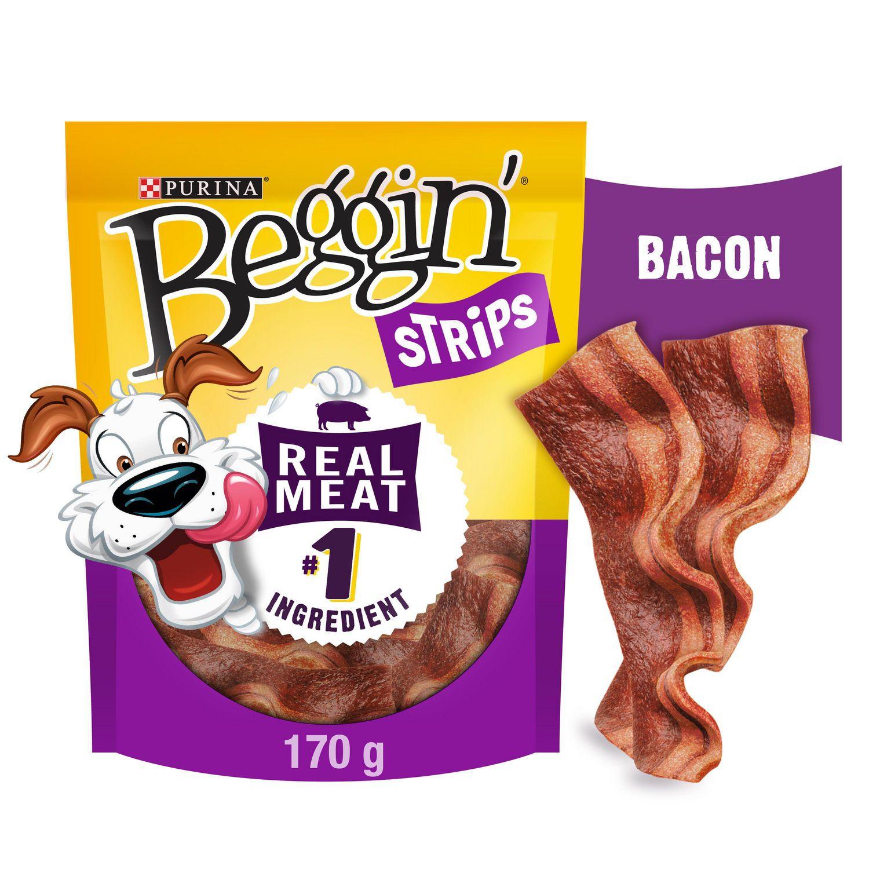 Beggin Strips Purina® Beggin' Strips® Bacon Flavour Dog ...