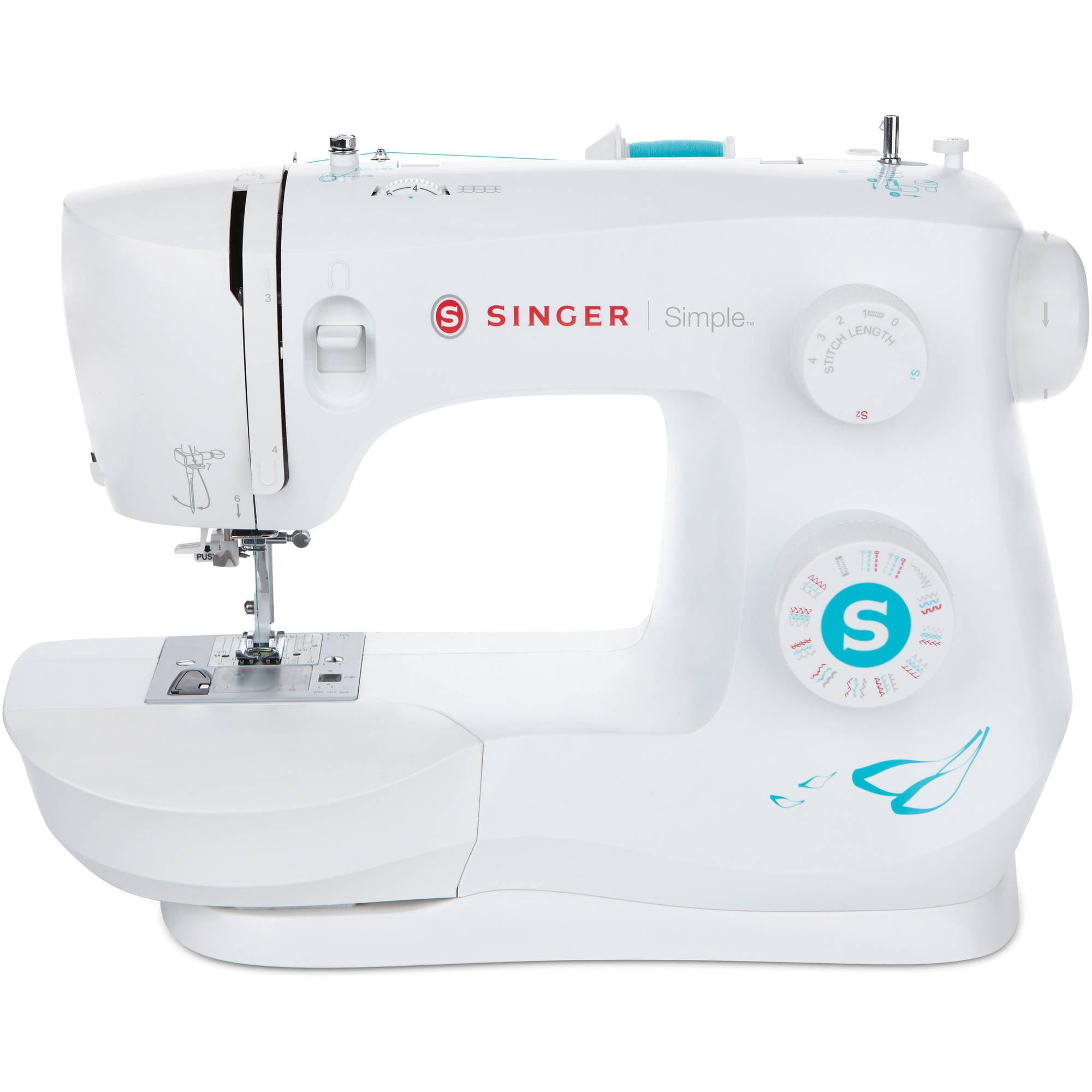 Singer 3337 Simple 29-stitch Sewing Machine - Walmart.com