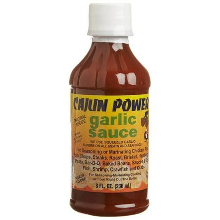Cajun Power Garlic Sauce, 8 oz - Walmart.com