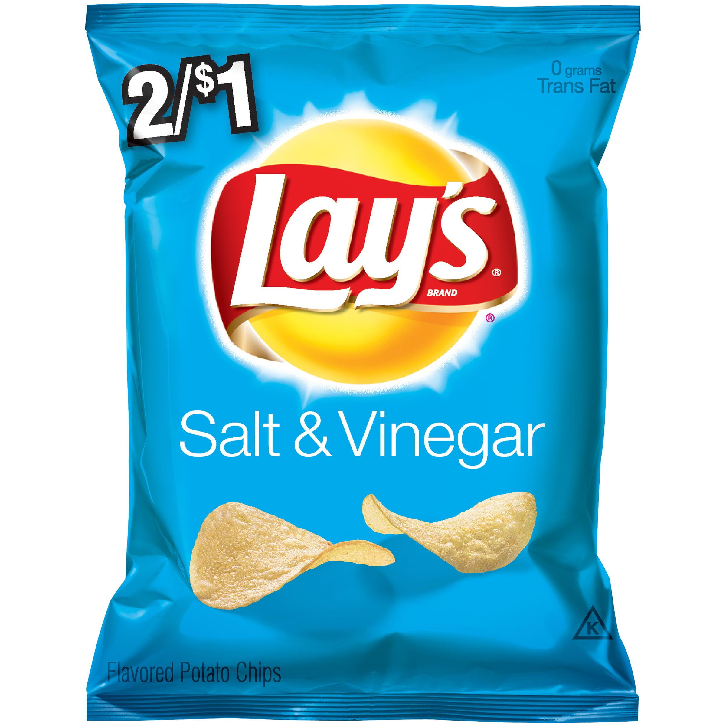 Lay's Salt & Vinegar Potato Chips 2/$1 or $.59 Ea ...